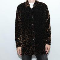 Leopard Rayon L/S Shirt