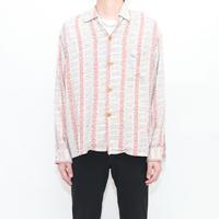 50's TOWNCRAFT Rayon L/S Shirt
