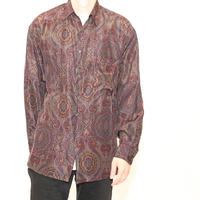 Silk Paisley L/S  Shirt