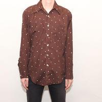 Arrow Mix Dot Pattern Shirt