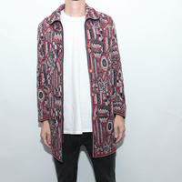 Ethnic Pattern Half Coat