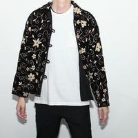 Velvet Embroidery Jacket