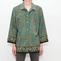 SAG HARBOR Paisley Pattern Shirt