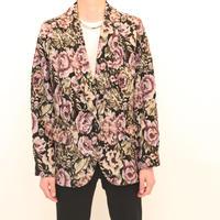 Gobelins Flower Pattern Jacket
