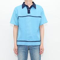 70's MONTGOMERY WARD Knit Polo Shirt