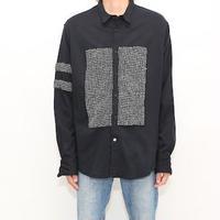 Black Rayon L/S Shirt