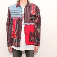 Patchwork Fringe Jacket