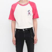 Old Mickey Raglan Sleeves T-Shirt