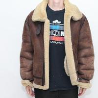 Vintage B-3 Mouton Jacket