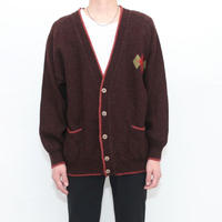 Vintage Wool Knit Cardigan MADE IN ITALY