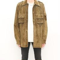 GUESS Suede Leather Jacket