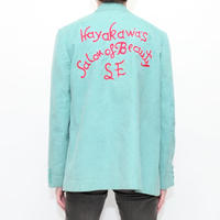 Embroidery Corduroy Jacket MADE IN USA