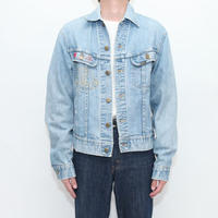 70's Lee Embroidery Denim Jacket