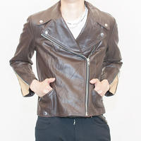 Euro Vintage Leather Jacket