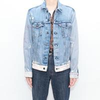 Levi's Bleach Denim Trucker Jacket