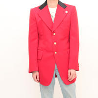 Seargent Uniform Blazer (Red, with black satin collar)