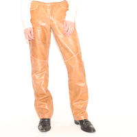 Boot Cut Leather Pants