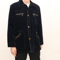 70's MONTGOMERY WARD Velour Jacket