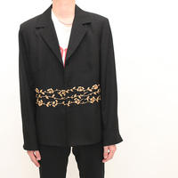 Embroidery Tailored Jacket