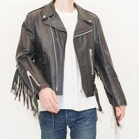 Fringe Riders Leather Jacket
