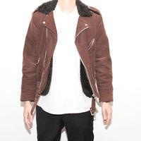 Corduroy Boa Rideres Jacket
