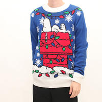 Snoopy Knit Sweater