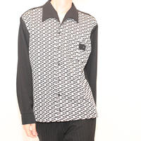 50s Like Design L/S Shirt
