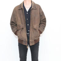 A-2 Type Suede Leather Jacket