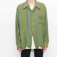 40s Rayon  L/S Shirt