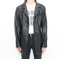 Skinny Leather Coat
