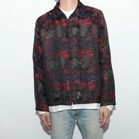 Silk Rayon Oriental Pattern Jacket