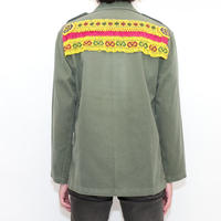 Beads Custom Military Jacket