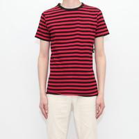 Red × Black Border T-Shirt