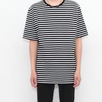 Black × White Border T-Shirt
