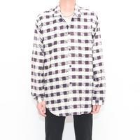 Paisley Pattern L/S Shirt