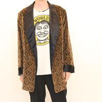 Shawl Collar Gown Jacket