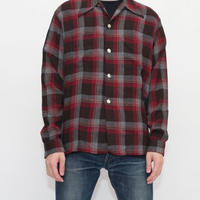 Vintage Rayon Ombre Check L/S Shirt