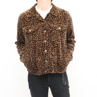 Leopard Trucker Jacket