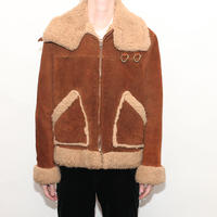 B-3 Type Suede Boa Jacket