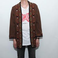 Embroidery Knit Cardigan