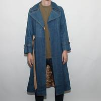 Skinny Denim Coat