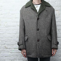 Harris Tweed Wool Coat