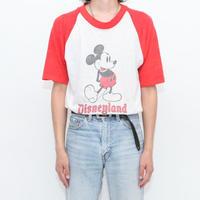 80's Mickey Raglan Sleeves T-Shirt