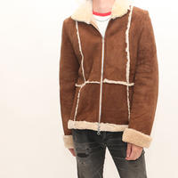 Vintage  Mouton Zip Up Jacket