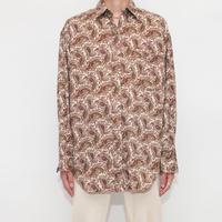 80's BANANA REPUBLIC Paisley Shirt