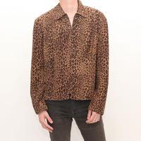 Leopard Silk Jacket