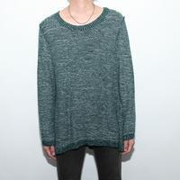 Back Side Knit Sweater