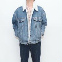 90's Levi's 3rd Type Denim Boa Jacket