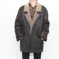 Vintage Mouton Coat MADE IN SPAIN