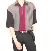 Half Zip Polo Shirt